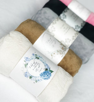 Personalized Blanket Band