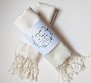 Personalized Pashmina Band