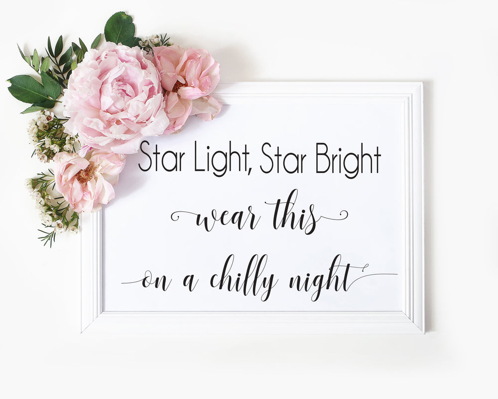 Star Light, Star Bright Sign 3