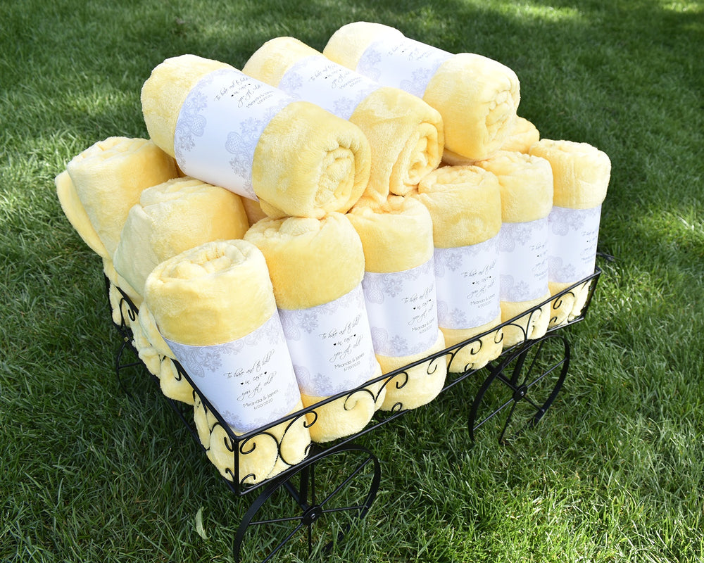Sunshine Plush Fleece Blanket
