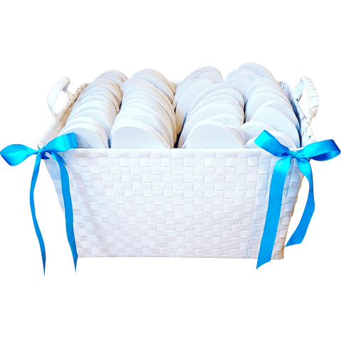 Country White Basket
