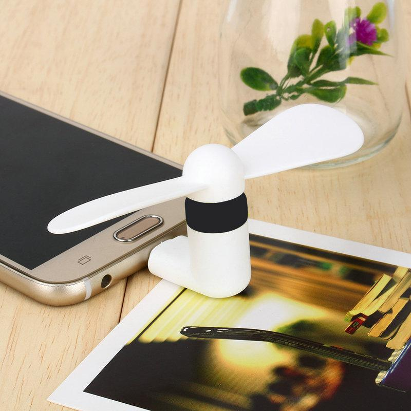 Mini Cooling Fan for Smartphones - Reception Flip Flops