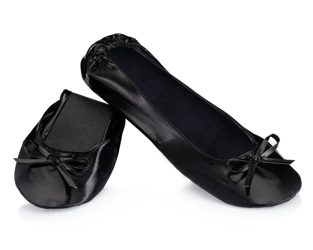 Black Ballet Flats - Reception Flip Flops