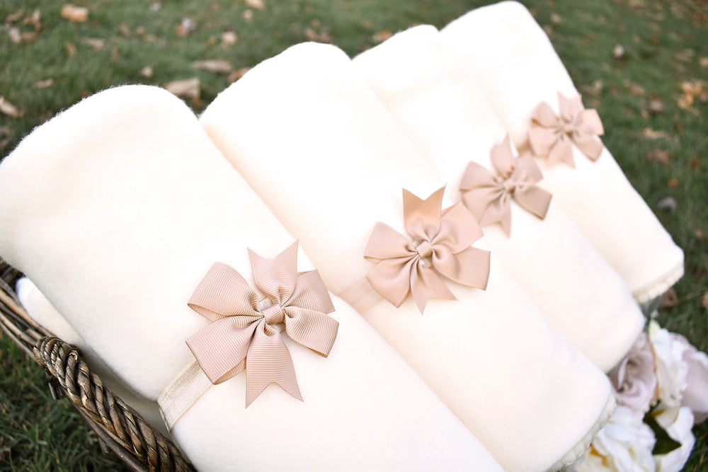 Blanket Favor Bows