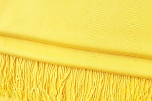 Bright Yellow Pashmina