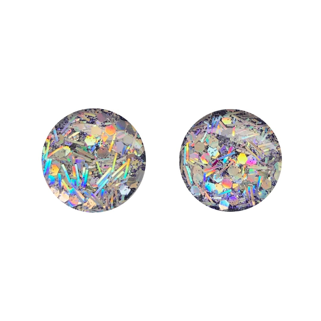 In Your Dreams Glass Stud Earrings