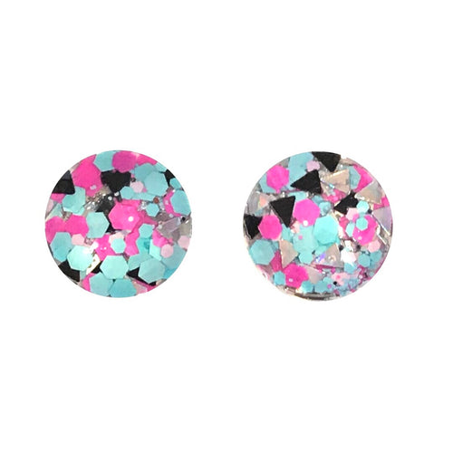 Bizerk Glass Stud Earrings