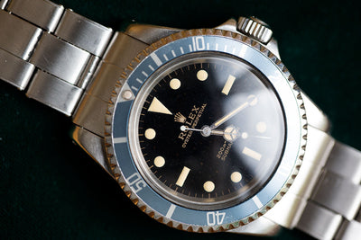 Copy of 1966 Rolex Submariner Ref: 5513 - SOLD