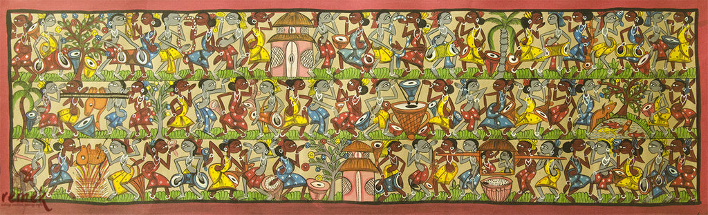 Santhal Painting - Tribe's Traditions