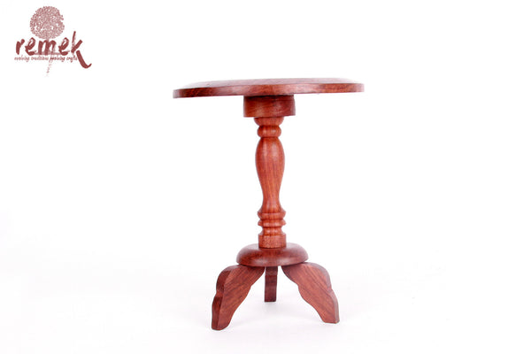 Hand-carved Wooden Decorative Table