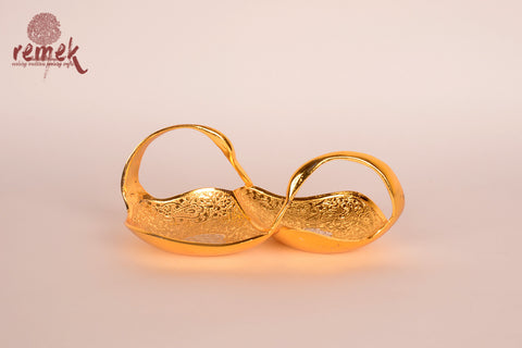Twin Duck shaped Brass Bowl