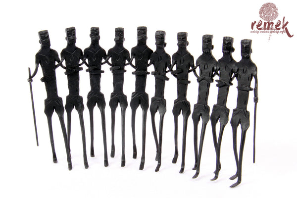 Bastar Wrought Iron Artefact - Tribal Dance