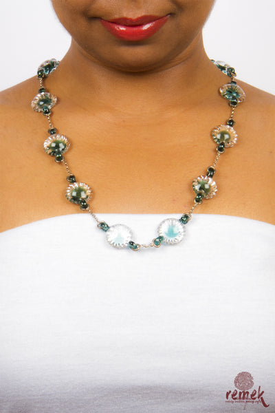 Crystal Jewellery - Gleaming Green