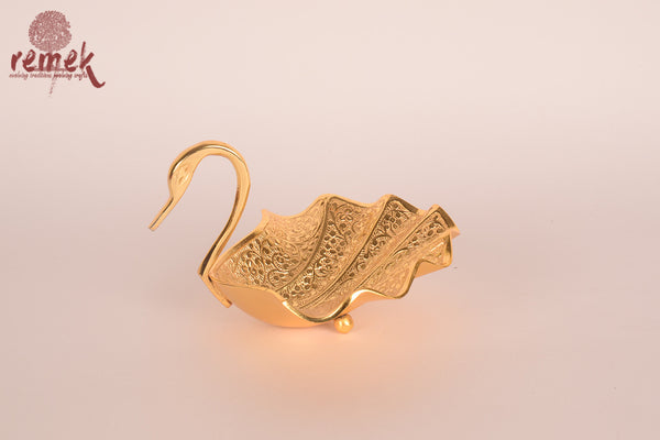 Duck shaped Brass Bowl