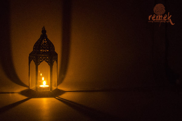 Moroccan Black Transparent Lantern