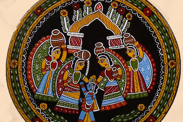 """Tikuli art"" Wall Hanging from Bihar"