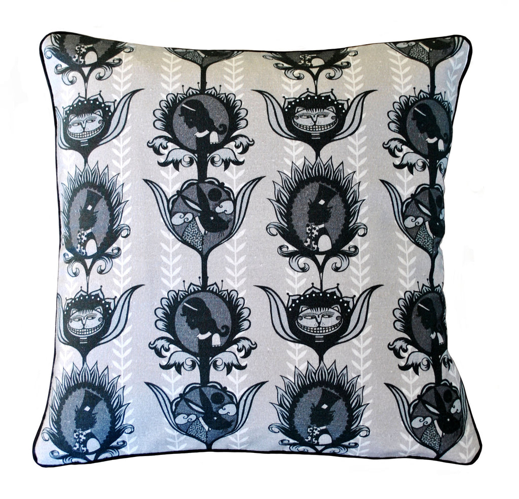 'Alice Stripe' Cotton Cushion