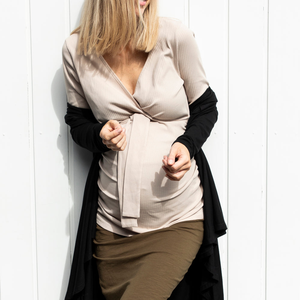 How To Nail Winter Street Style When Pregnant
