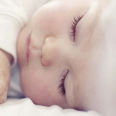 Baby sleeping - maternity blog