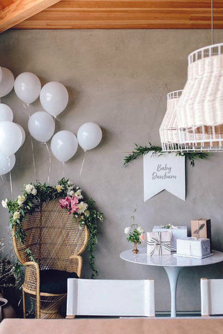 baby shower decorations at home