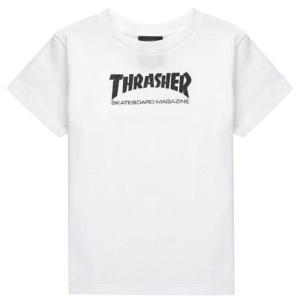 "THRASHER ""SKATEBOARD MAGAZINE"" TODDLER TEE - THE RESIDENT KID"