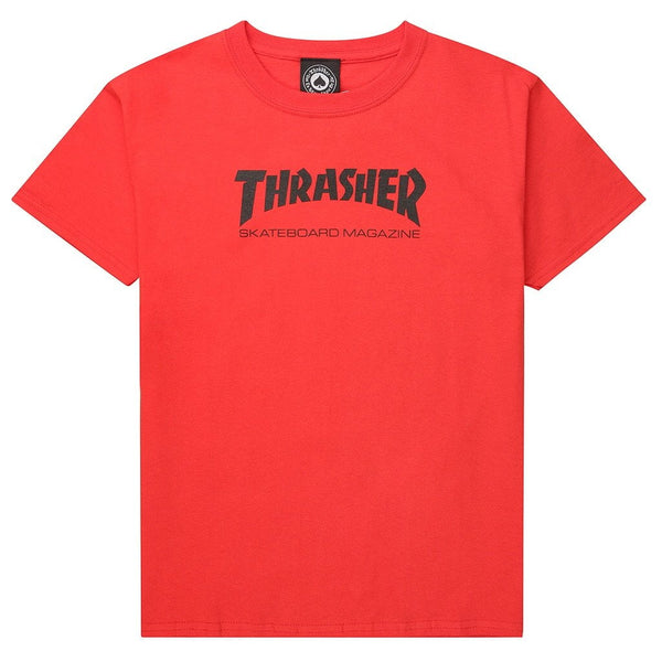 "THRASHER ""SKATEBOARD MAGAZINE"" YOUTH TEE - THE RESIDENT KID"