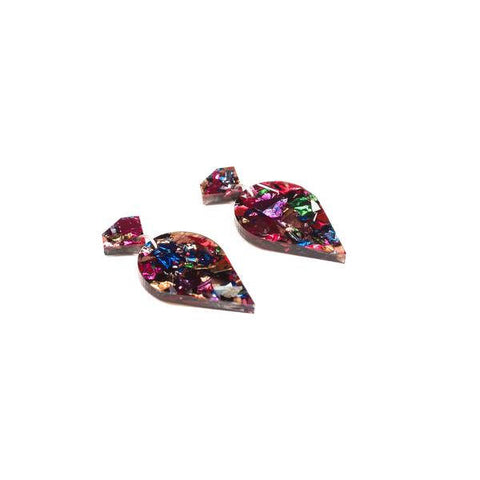 Glitter Earrings - Multicolour