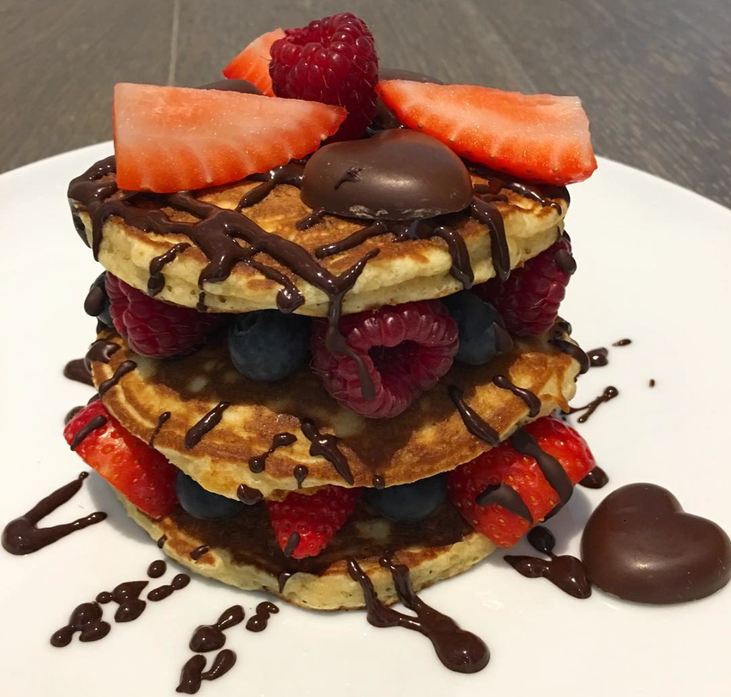 Celebrate Pancake Day with this delicious, healthier American style stack.