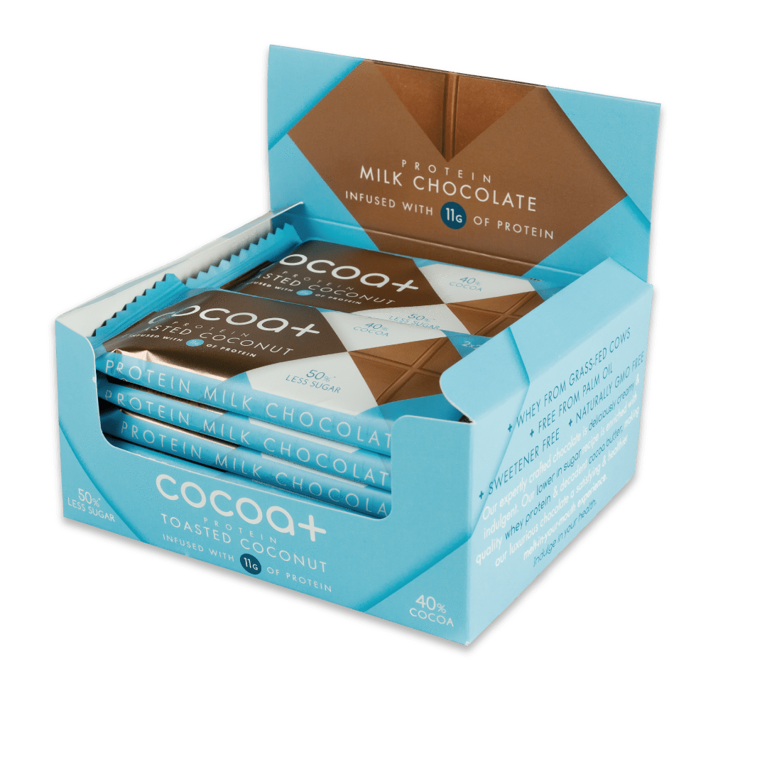 Mini Protein Chocolate Toasted Coconut Bars (40g)