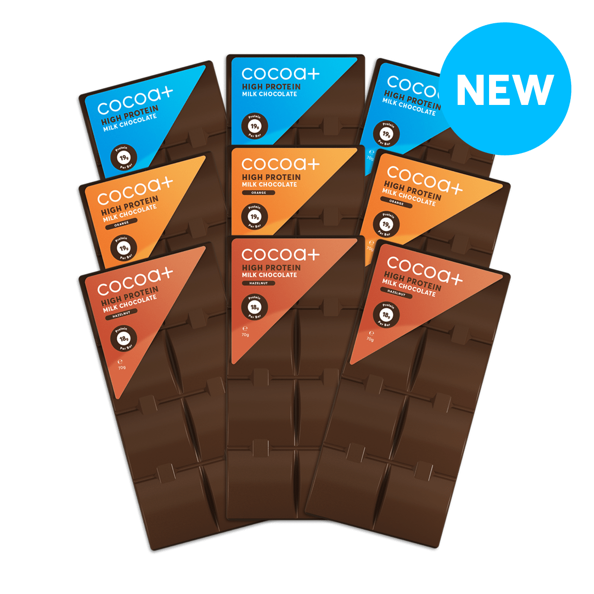 The 9-Pack (Now including New Gingerbread Spiced Milk Choc)