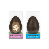 high protein chocolate egg