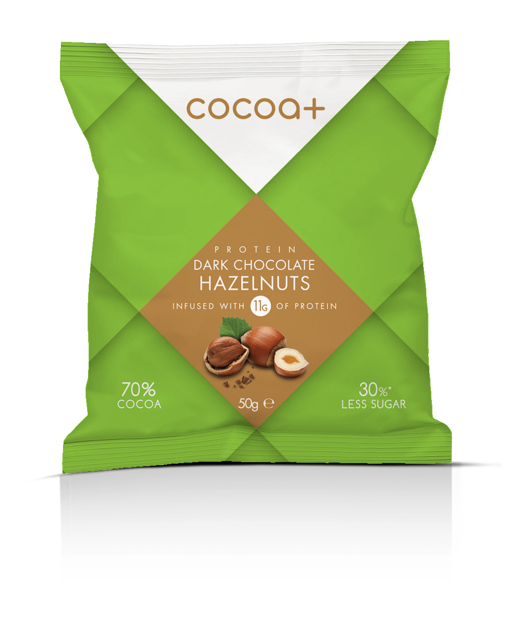 70% Dark Protein Chocolate Hazelnuts