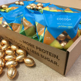 Golden Protein Milk Chocolate Eggs