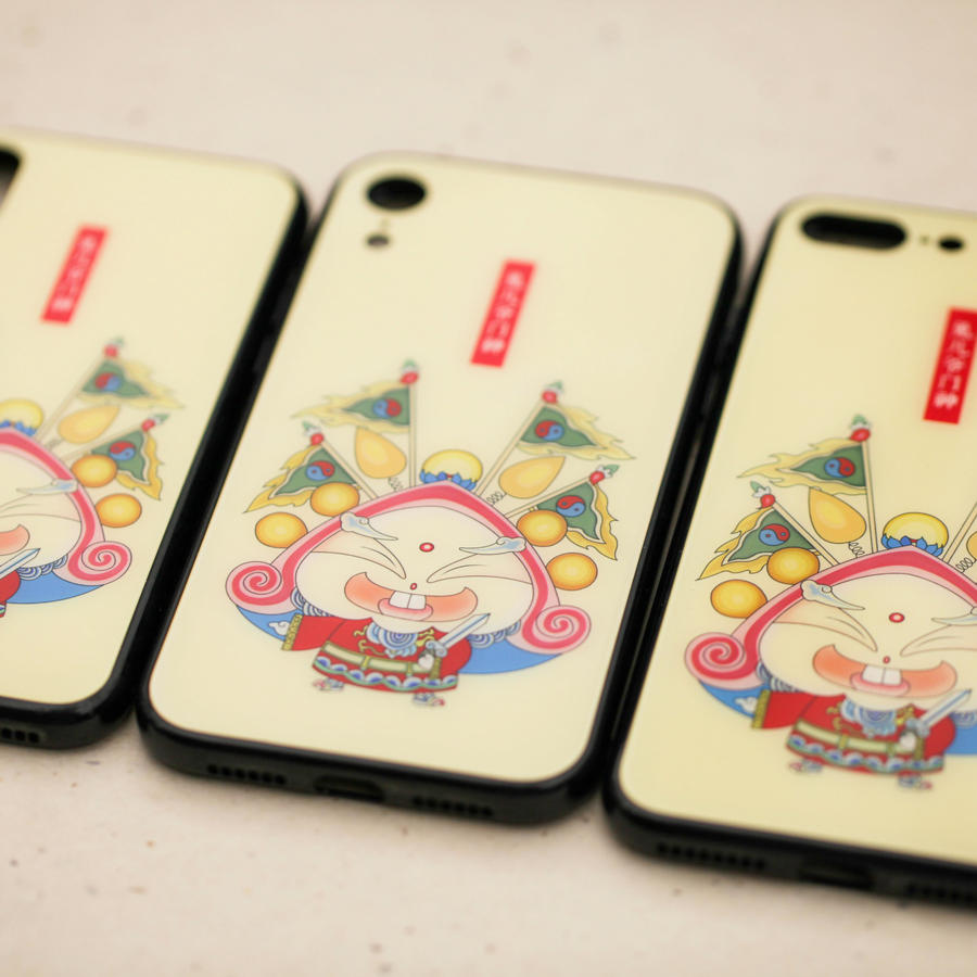 Mobile Phone Case-Rabbit God