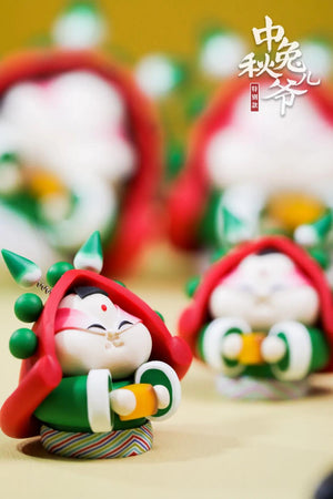 Rabbit God Family Set: Mid-autumn Festival Special Version
