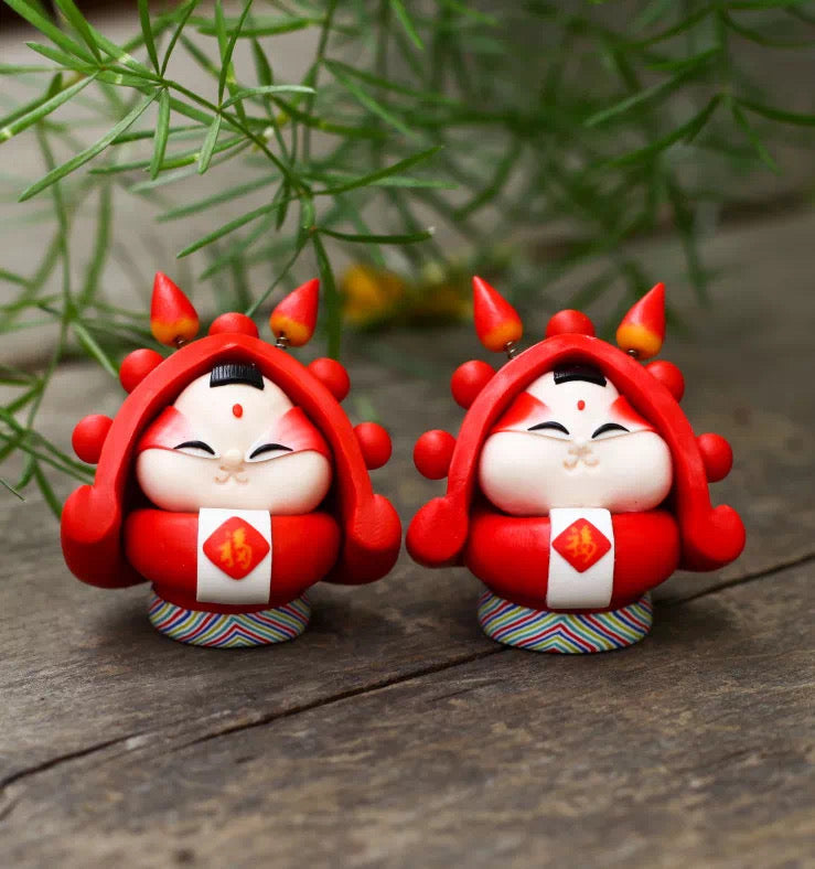 Rabbit God Double Fortune Mini (Pair)