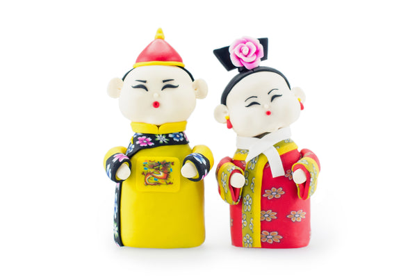 Manchu Prince and Princess (Pair)