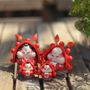 Rabbit God Family Set