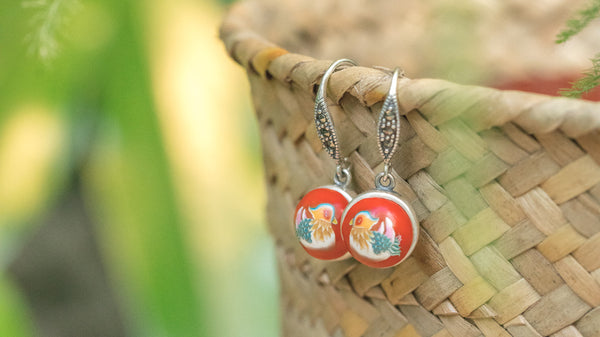 Mandarin Duck Jewellery Series