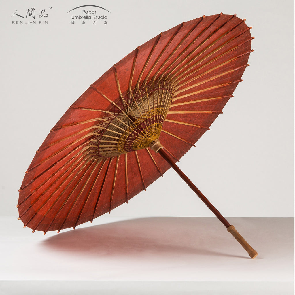 Oil-paper Umbrella - Solid Color