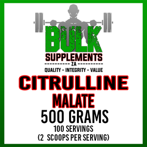Pure Citrulline Malate - 500g (2x250g)