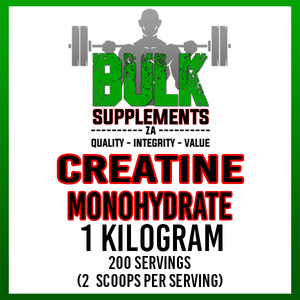 Pure Creatine Monohydrate - 1kg (4x250g)