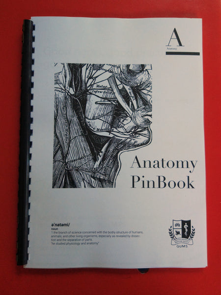 GUMS Anatomy PinBook