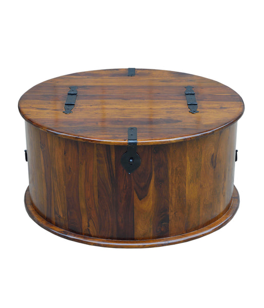 Round Drawer Chest, TABLE - Knots Furniture