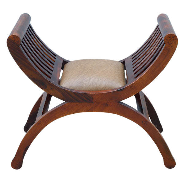 Stool with Seat Cushion, CHAIR - Knots Furniture