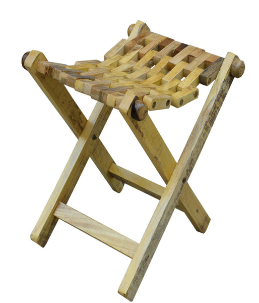 Folding Stool, CHAIR - Knots Furniture