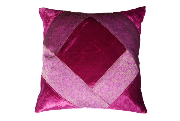 Velvet with Artificial Silk, CUSHION - Knots Furniture