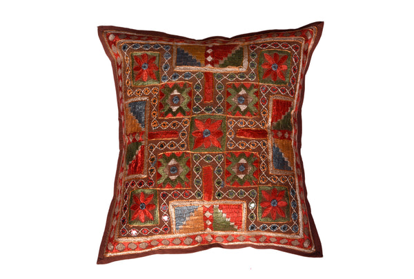 Vintage Embroidery Patchwork, CUSHION - Knots Furniture