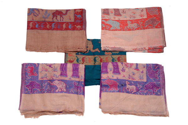 Semi Pashmina (Motif), SHAWL - Knots Furniture