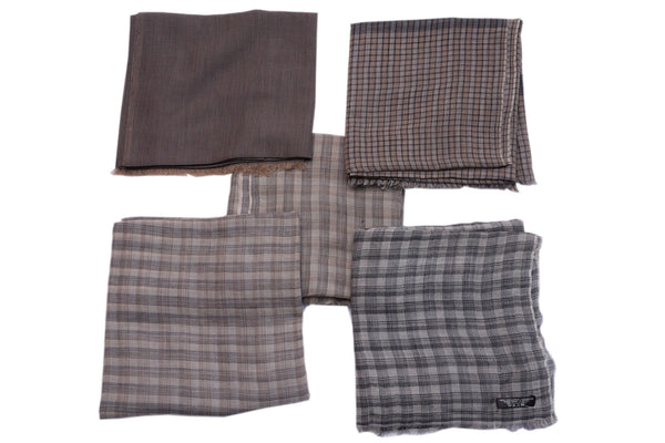 Semi Pashmina (Checkered), PASHMINA - Knots Furniture